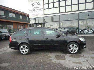 usata Skoda Octavia station wagon 1.6 tdi cr f.ap. dsg wag. amb. diesel automatico nero