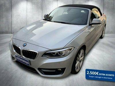 usata BMW 220 SERIE 2 CABRIO d Cabrio Sport auto my15