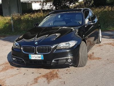 """usata BMW 525 Serie 5 Touring Luxury AUT/NAVI PROF/19\\\""""/TETTO"""