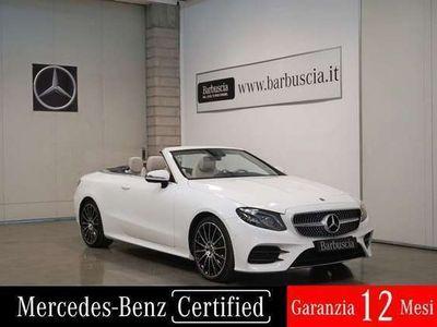 usata Mercedes E220 (A238) d 4Matic Cabrio Premium