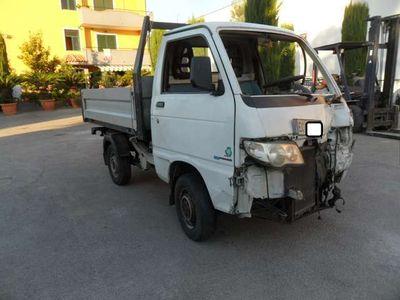 usata Piaggio Porter 1.3 Benzina/Gpl Ribaltabile Sinistrato