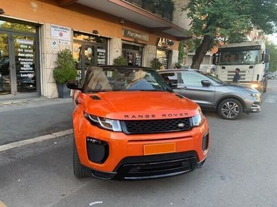 usata Land Rover Range Rover evoque 2.0 TD4 180 CV Cabrio HSE Dynamic Full O