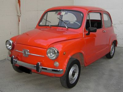 second-hand Fiat 600D (motore 750) del 1967