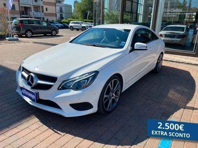 usata Mercedes 220 CLASSE E COUPÉ E couped (BT) Sport E6