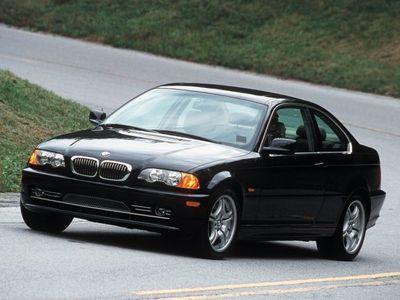 begagnad BMW 320 Ci Coupe E46 1999 nera