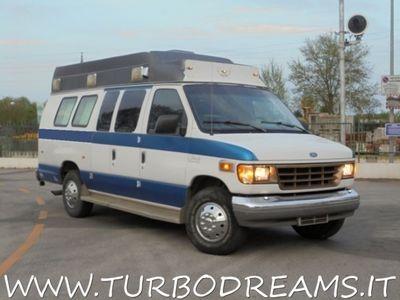 gebraucht Ford Econoline E-350 7.3 V8 POWERSTROKE TURBO DIESEL EX AMBULANCE rif. 7580079