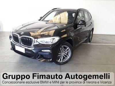 usata BMW X3 xDrive20d Msport Aut.