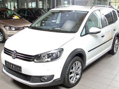 gebraucht VW Touran Cross 2.0 Tdi Dsg, Standheizung, Navi, Ahk, Winterpaket