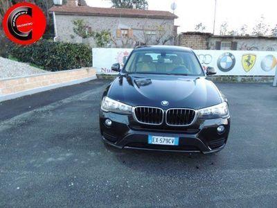 brugt BMW X3 xDrive20d KM E TAGLIANDI CERTIF!!IN ARR