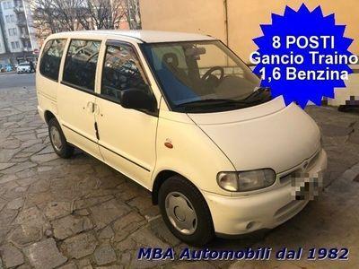 usata Nissan Serena 1.6i 16V SLX MINIBUS 8 Posti Gancio traino
