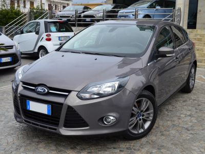 brugt Ford Focus 1.6 TDCi S&S ECOnetic ( Navy )