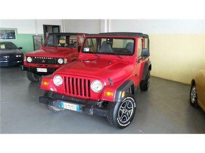 usata Jeep Wrangler 4.0 sport cabrio 4x4