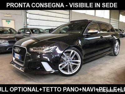 usata Audi RS6 avant 4.0 tfsi quattro tiptronic +tetto+pelle+navi benzina
