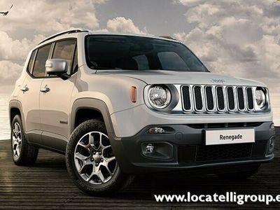 usata Jeep Renegade 1.6 Mjt 120 CV Limited - Int. Pelle e NAVI MY18