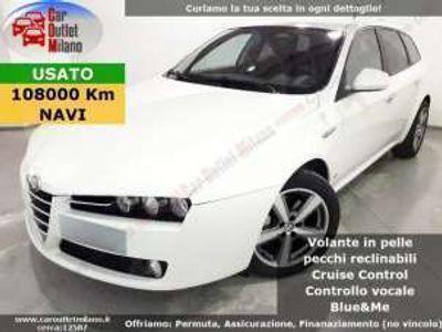 usata Alfa Romeo 159 JTDm 2011 2.0 D 136CV 6Man 4P Bianco rif. 12438966