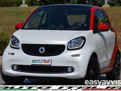 used Smart ForTwo Coupé 90 0.9 turbo twinamic passion +navi+tel+cruise+cam