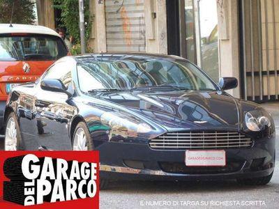 usata Aston Martin DB9 Coupé Touchtronic PRE SERIE 077 BLU PELLE BLU