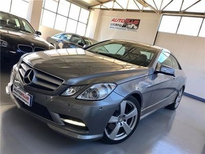 usata Mercedes E220 ClasseCdi Coupé Amg Pack 7g-tronic Usato