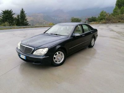 usata Mercedes S320 CDI Elegance Restyling-Pelle Beige-195000 Km