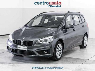 usata BMW 218 d gr.tourer Advantage 7p.ti auto