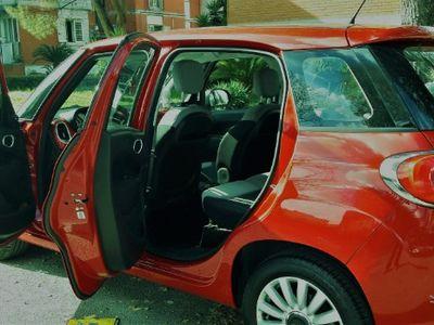 usata Fiat 500L 1.3 mtj 85 cv Rossa Fiammante Da Vet