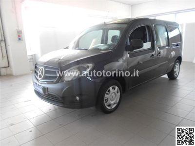 używany Mercedes Citan 111 cdi Mixto Extralong