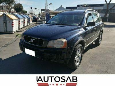 usata Volvo XC90 2.4 D5 AWD Danni Carrozzeria 4 Ruote Motrici