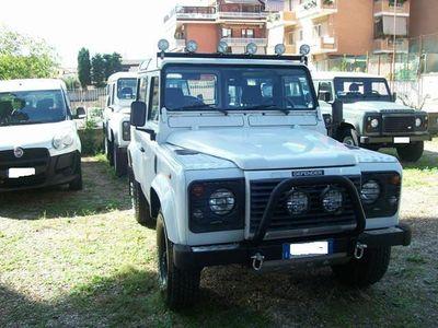 "brugt Land Rover Defender 90 2500cc TD5 ""S"" clima,abs+tc"