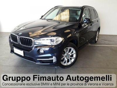 usata BMW X5 xDrive25d Business Aut. 7 posti