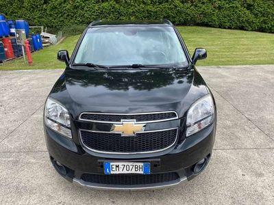 usata Chevrolet Orlando 1.8 GPL LT (7 posti)