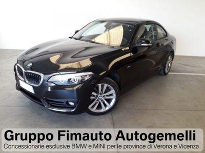 usata BMW 220 d Coupé Sport Aut.