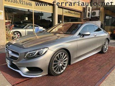 usata Mercedes S500 SEC Coupé 4Matic Premium AMG
