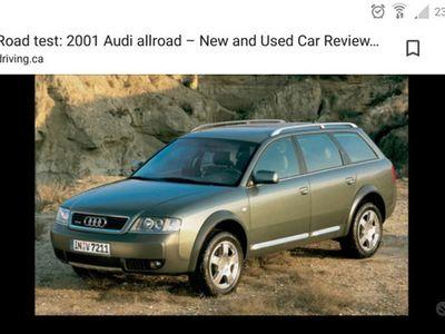 usata Audi A6 Allroad 1ª serie - 2001