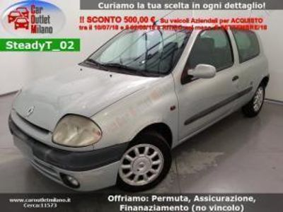 usata Renault Clio II 2ª 2000 1.1 B 58CV 5Man 3P Argento