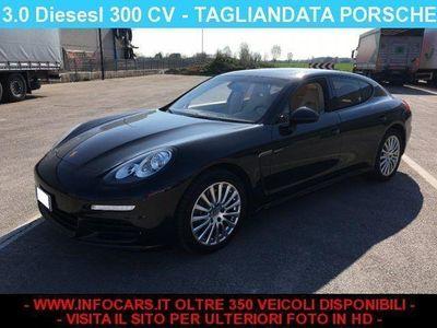 usata Porsche Panamera 3.0 Diesel - TAGLIANDI