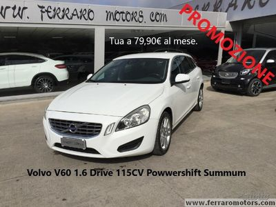 usado Volvo V60 1.6 Drive 115CV Automatico Summum