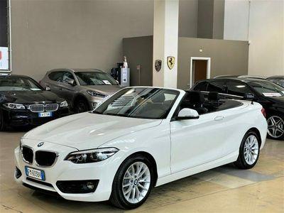 "usata BMW 220 i Cabrio Advantage Automatica - LED - Navi - 17"""
