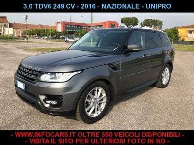 usata Land Rover Range Rover Sport 3.0 TDV6 249 CV - 2016 - NO SUPERBOLLO -