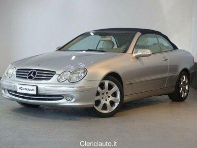 usata Mercedes CLK200 Kompr. TPS cat Cabrio Elegance (PELLE,NAVI)