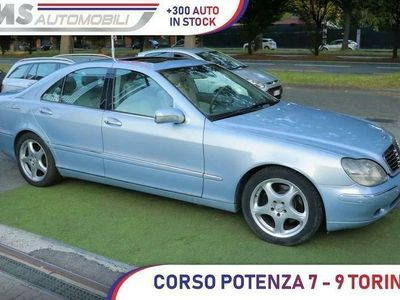 usata Mercedes S320 S 320 CDI cat Unicoproprietario Tetto apribileCDI cat Unicoproprietario Tetto apribile