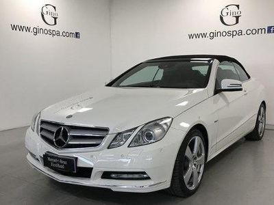 usata Mercedes E220 CDI Cabrio BlueEFFICIENCY Executive