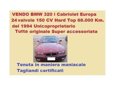 usata BMW 320 Cabriolet 320 i 24V cat Europa