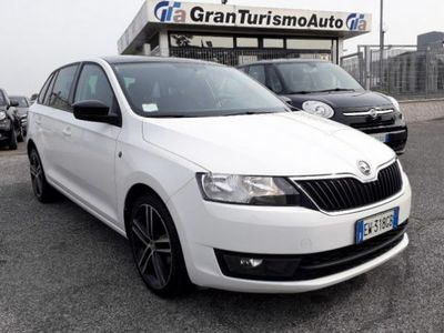 usado Skoda 105 Rapid/Spaceback 1.6 TDI CRCV Ambition 37000 KM TETTO PANORAMA
