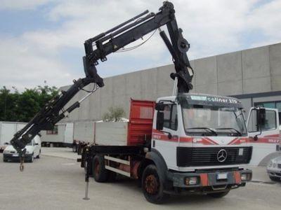usata Mercedes 190 18.27 RIB CON GRU HIAB 160 E GIP