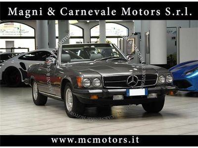 usata Mercedes 380 SL - ISCRITTA ASI - HARD TOP - FATTURE LAVORI