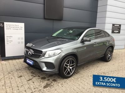 usata Mercedes 350 CLASSE GLE COUPE GLE couped Premium 4matic auto