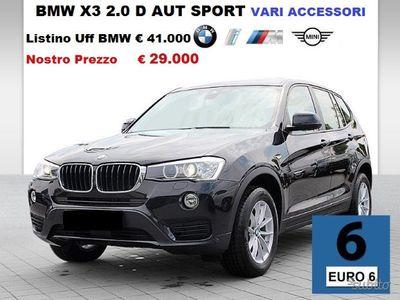 usado BMW X3 2.0 tdi aut sport varie ultimissime
