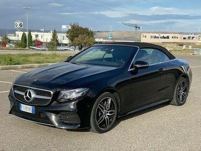 usata Mercedes E220 4Matic Cabrio Premium Plus