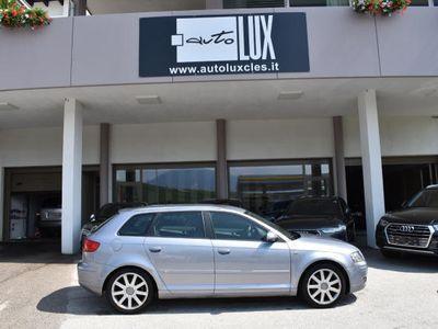 """usata Audi A3 Sportback 2.0 tdi """"4"""" S-LINE"""