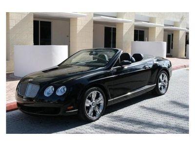 usata Bentley Continental Gtc Solo Noleggio Breve Termine Usato